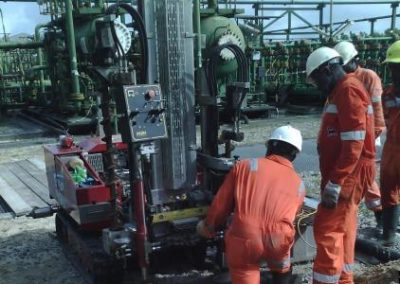 Geotechnical Investigation at Tunu Flowstation SSAGS Project Nigeria [Saipem] 2016
