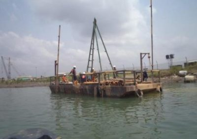 Geotechnical Investigation of Proposed Loading Jetty Site Onne Rivers State [Lafarge Africa] 2014