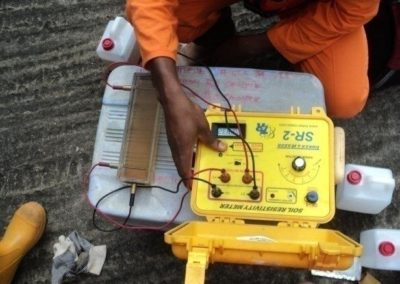 Sand & Water Sampling & Resistivity Measurements for SSAGS Project Production Facilities EPC Nigeria [Saipem] 2013