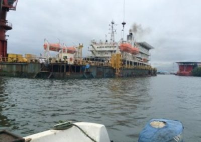 Site Bathymetric Survey of OIS-Indorama Port Area, Onne Rivers State [Indorama] 2015