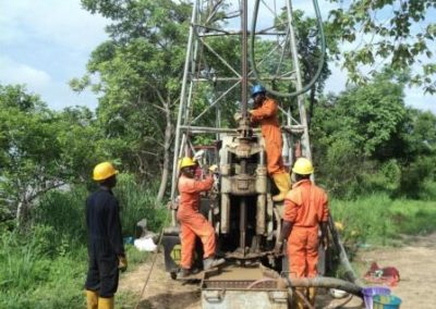 Site Investigation of Dangote Fertilizer Plant Site Iviegbepui Edo State 2012