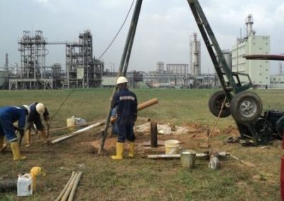 Site Investigation of EPCL Fertilizer Project Site Eleme Port Harcourt 2011
