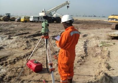 Topographic Survey of OIS-Indorama Port Site Onne Rivers State [Indorama] 2014