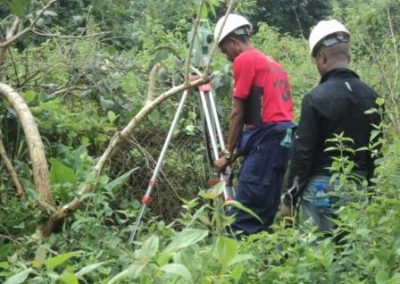 Topographical Survey for Trans-Kalabari Highway Project Rivers State [Lubrik Construction] 2013