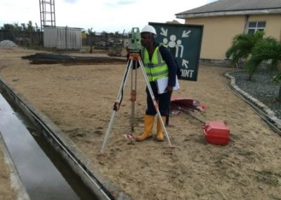 Topographical Survey of Atlas Cement Terminal Onne Rivers State [Lafarge Africa] 2015