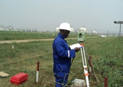 Topographical Survey of Indorama Eleme Fertilizer Project Site Eleme Rivers State [Indorama] 2012