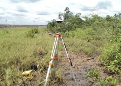 Topographical Survey of OIS-Indorama 10ha Plot Onne FOT Rivers State 2012