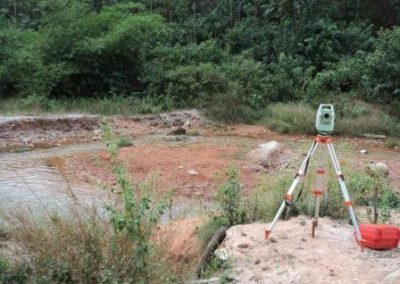 Topographical Survey of SarnerPFM Wildlife Park Site Delta State 2011