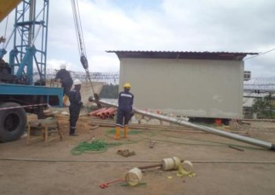 Water Well Drilling & Development for EGINA UFR SCNL Yard Prep Works Port Harcourt 2014