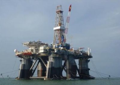 Well Positioning for MG Hulme Rig at OYO 6 OML120 Offshore Nigeria 2009