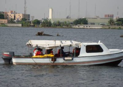 Bathymetric Survey of Proposed Linetrale Gas LPG Storage Facility Area Lagos 2008