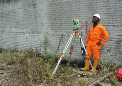 Control Extension Survey at OIS Indorama Port Onne Rivers State [Lubrik Construction] 2014