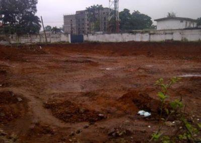 Control Network Establishment at Site Proposed Marriott Hotel Ikeja-Lagos 2014