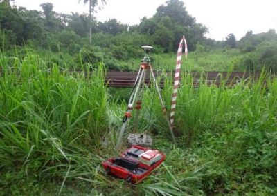 Route Topographical Survey for Utorogu-Ughelli DOMGAS Pipelines Project 2009