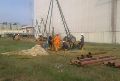 Site Investigation Indorama New Gas Turbine Eleme Port Harcourt 2017