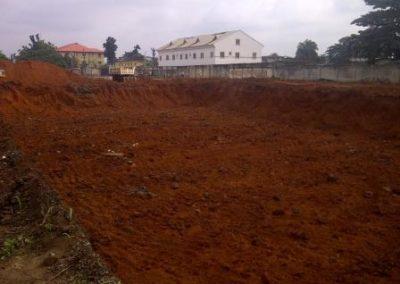 Topographic Survey of Proposed Site for Marriott Hotel Ikeja Lagos [Ridge Surveyors] 2014
