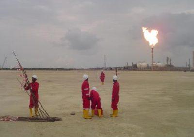 Topographical & Bathymetric Survey of Escravos Gas To Liquids Project Site Escravos Nigeria 2006
