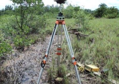 Topographical Survey along 24.04km Pipeline Routes for OML58 Upgrade Projects Rivers State 2009