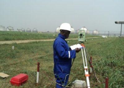Topographical Survey of Indorama Eleme Fertilizer Project Site Eleme Rivers State [Indorama] 2012