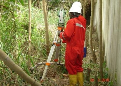 Topographical Survey of Total Base Port Harcourt Rivers State 2010