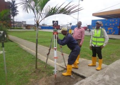 Topographical Survey Pabod Breweries Port Harcourt Rivers State 2015