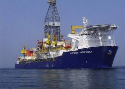 Well Positioning for Deepwater Pathfinder Drill Ship at OYO 5A DIR OML120 Offshore Nigeria 2009
